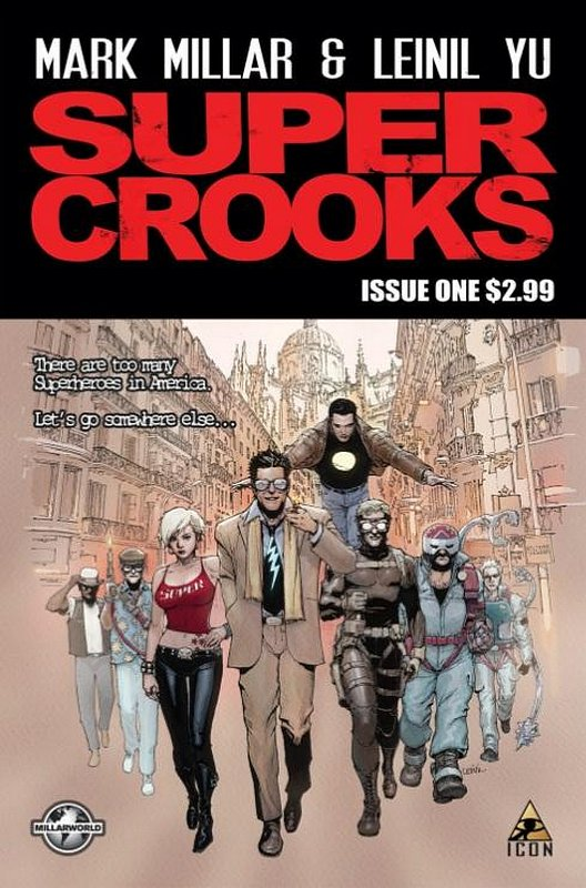 Cover of Supercrooks (2012 Ltd) #1. One of 250,000 Vintage American Comics on sale from Krypton!