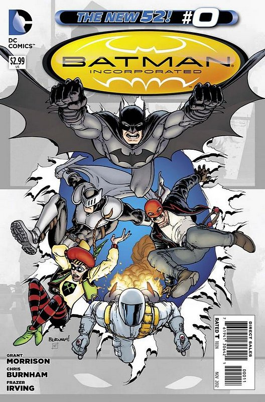 Cover of Batman Inc. (Vol 2) #0. One of 250,000 Vintage American Comics on sale from Krypton!