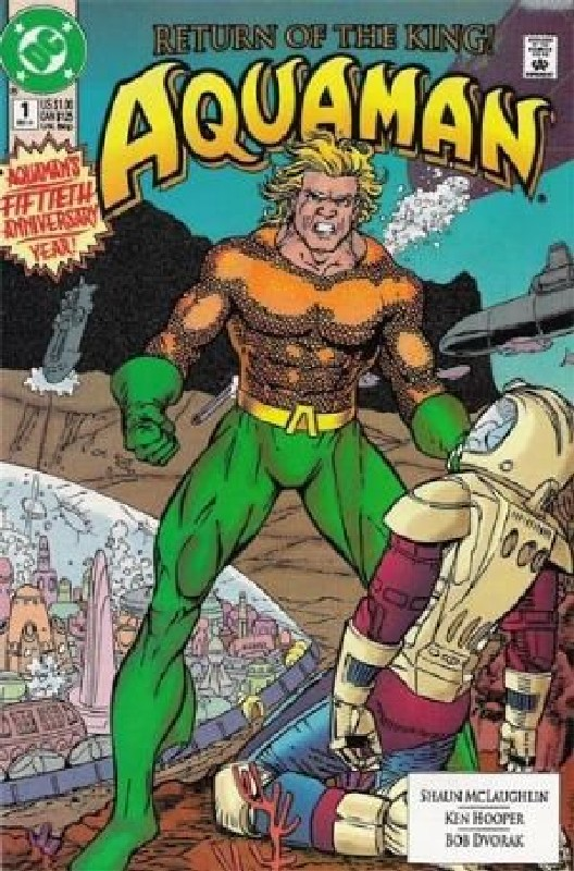 Cover of Aquaman (Vol 2) #1. One of 250,000 Vintage American Comics on sale from Krypton!