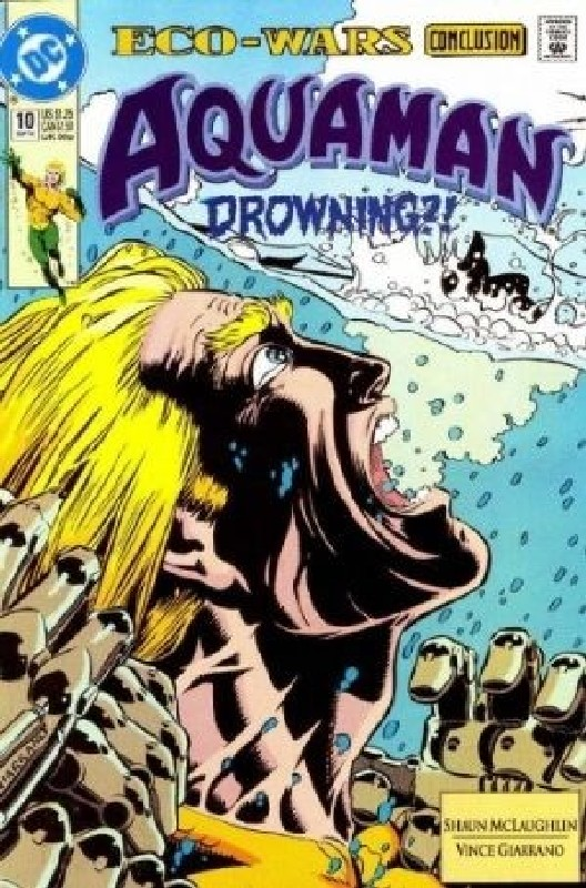 Cover of Aquaman (Vol 2) #10. One of 250,000 Vintage American Comics on sale from Krypton!