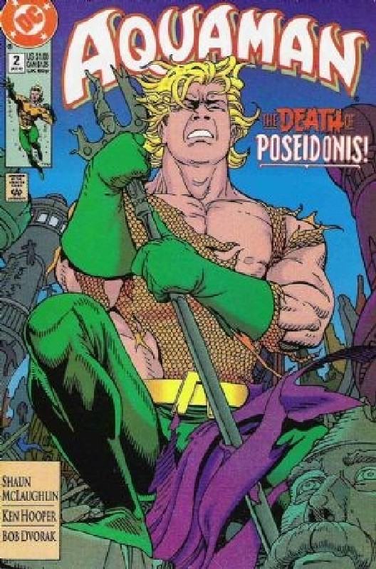 Cover of Aquaman (Vol 2) #2. One of 250,000 Vintage American Comics on sale from Krypton!