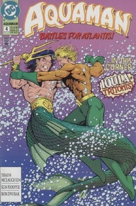Cover of Aquaman (Vol 2) #4. One of 250,000 Vintage American Comics on sale from Krypton!