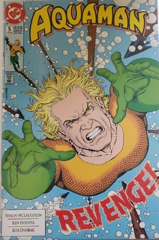 Cover of Aquaman (Vol 2) #5. One of 250,000 Vintage American Comics on sale from Krypton!