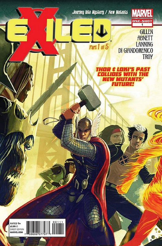 Cover of Exiled (2012 One Shot) #1. One of 250,000 Vintage American Comics on sale from Krypton!