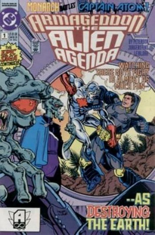 Cover of Armageddon: The Alien Agenda (1991 Ltd) #1. One of 250,000 Vintage American Comics on sale from Krypton!