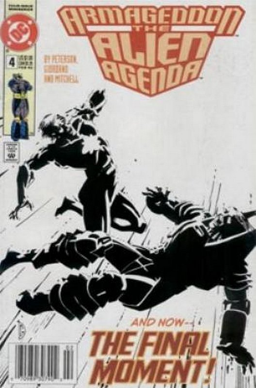 Cover of Armageddon: The Alien Agenda (1991 Ltd) #4. One of 250,000 Vintage American Comics on sale from Krypton!