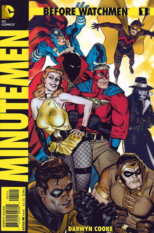 Cover of Before Watchmen: Minutemen (2012 Ltd) #1. One of 250,000 Vintage American Comics on sale from Krypton!