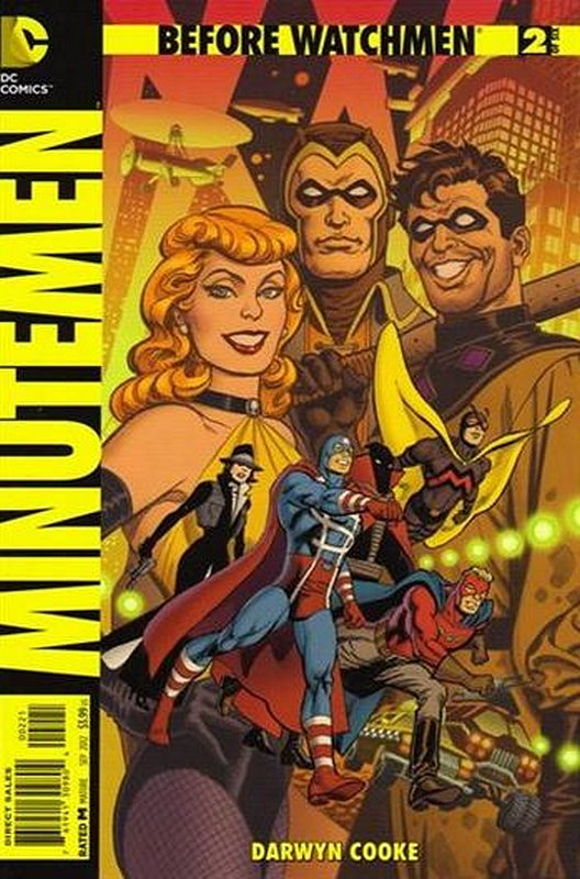 Cover of Before Watchmen: Minutemen (2012 Ltd) #2. One of 250,000 Vintage American Comics on sale from Krypton!