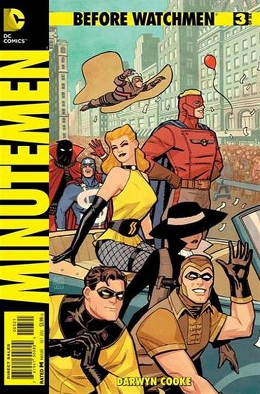 Cover of Before Watchmen: Minutemen (2012 Ltd) #3. One of 250,000 Vintage American Comics on sale from Krypton!