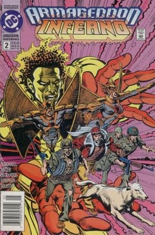 Cover of Armageddon: Inferno (1992 Ltd) #2. One of 250,000 Vintage American Comics on sale from Krypton!