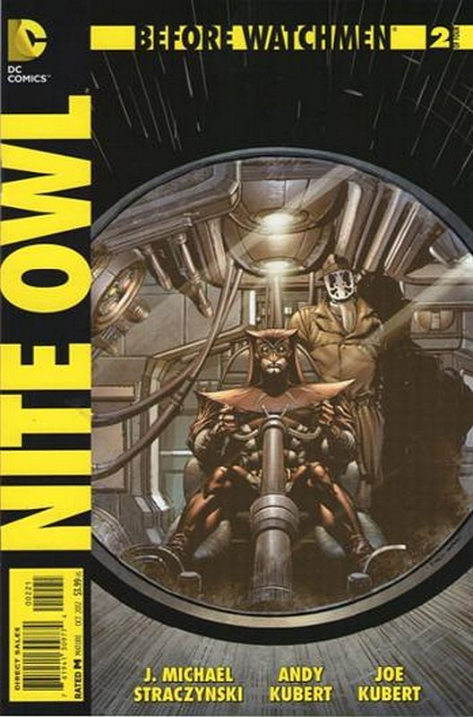 Cover of Before Watchmen: Nite Owl (2012 Ltd) #2. One of 250,000 Vintage American Comics on sale from Krypton!