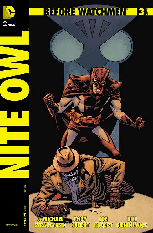 Cover of Before Watchmen: Nite Owl (2012 Ltd) #3. One of 250,000 Vintage American Comics on sale from Krypton!