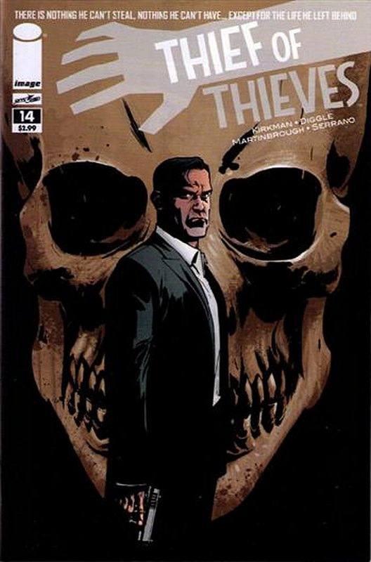 Cover of Thief of Thieves (Vol 1) #14. One of 250,000 Vintage American Comics on sale from Krypton!