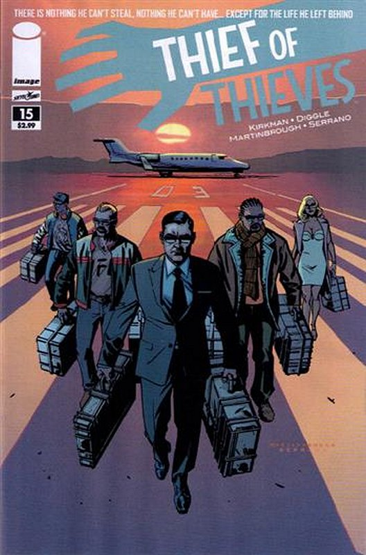 Cover of Thief of Thieves (Vol 1) #15. One of 250,000 Vintage American Comics on sale from Krypton!