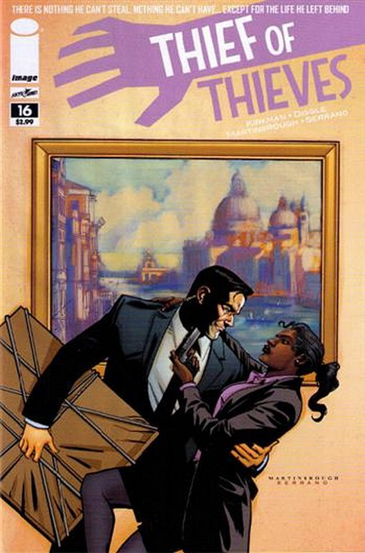 Cover of Thief of Thieves (Vol 1) #16. One of 250,000 Vintage American Comics on sale from Krypton!