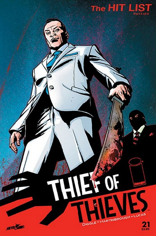 Cover of Thief of Thieves (Vol 1) #21. One of 250,000 Vintage American Comics on sale from Krypton!