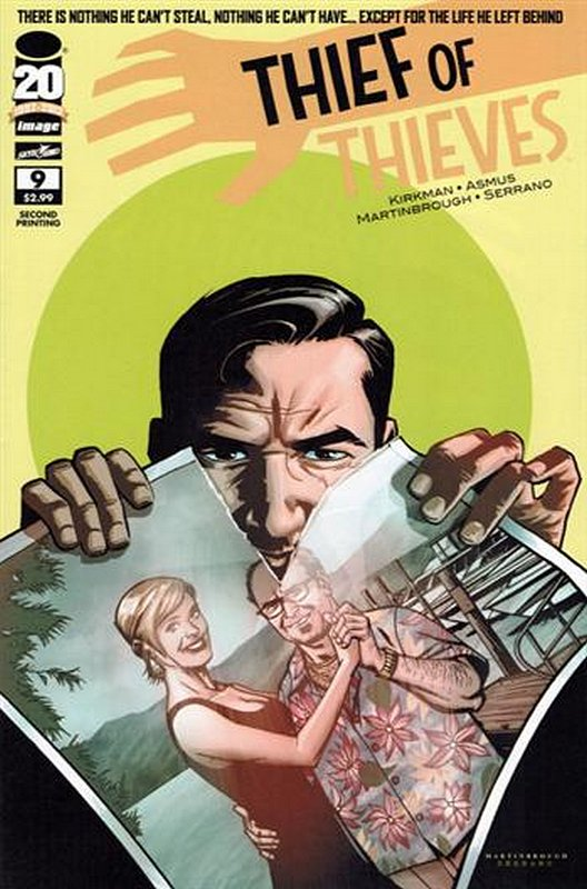 Cover of Thief of Thieves (Vol 1) #9. One of 250,000 Vintage American Comics on sale from Krypton!