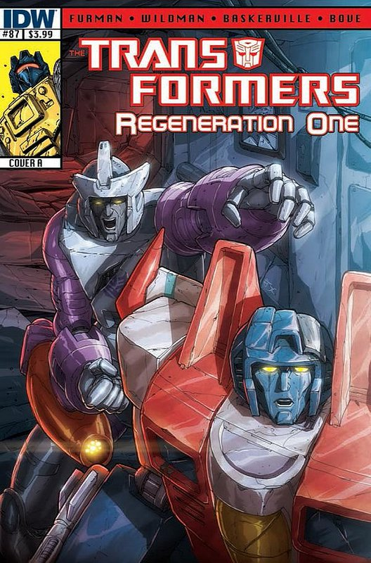 Cover of Transformers: Regeneration One (IDW) #87. One of 250,000 Vintage American Comics on sale from Krypton!