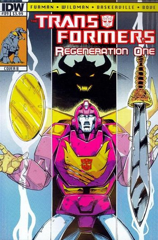 Cover of Transformers: Regeneration One (IDW) #89. One of 250,000 Vintage American Comics on sale from Krypton!