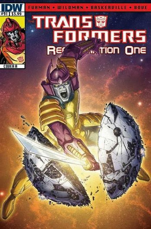 Cover of Transformers: Regeneration One (IDW) #91. One of 250,000 Vintage American Comics on sale from Krypton!