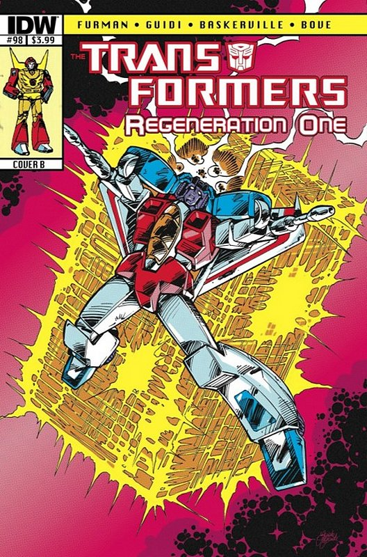 Cover of Transformers: Regeneration One (IDW) #98. One of 250,000 Vintage American Comics on sale from Krypton!