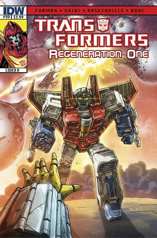 Cover of Transformers: Regeneration One (IDW) #99. One of 250,000 Vintage American Comics on sale from Krypton!