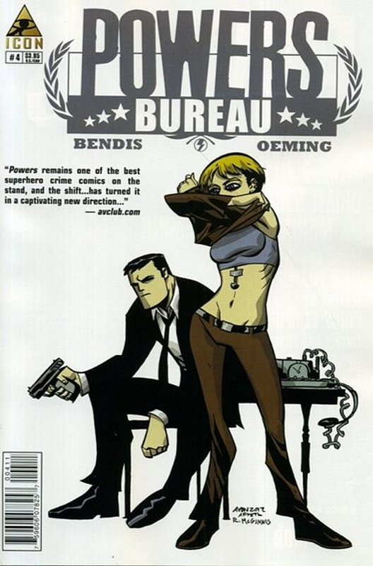 Cover of Powers Bureau (Vol 1) #4. One of 250,000 Vintage American Comics on sale from Krypton!
