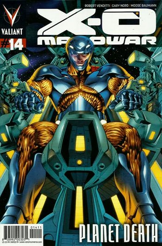 Cover of X-O Manowar (Vol 3) #14. One of 250,000 Vintage American Comics on sale from Krypton!