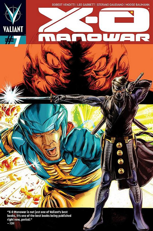 Cover of X-O Manowar (Vol 3) #7. One of 250,000 Vintage American Comics on sale from Krypton!