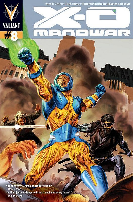 Cover of X-O Manowar (Vol 3) #8. One of 250,000 Vintage American Comics on sale from Krypton!