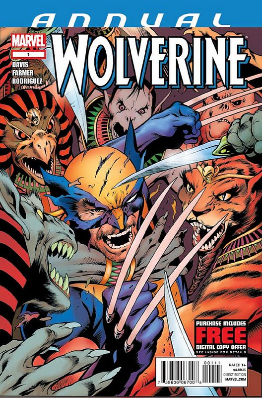Cover of Wolverine Annual (2012) #1. One of 250,000 Vintage American Comics on sale from Krypton!