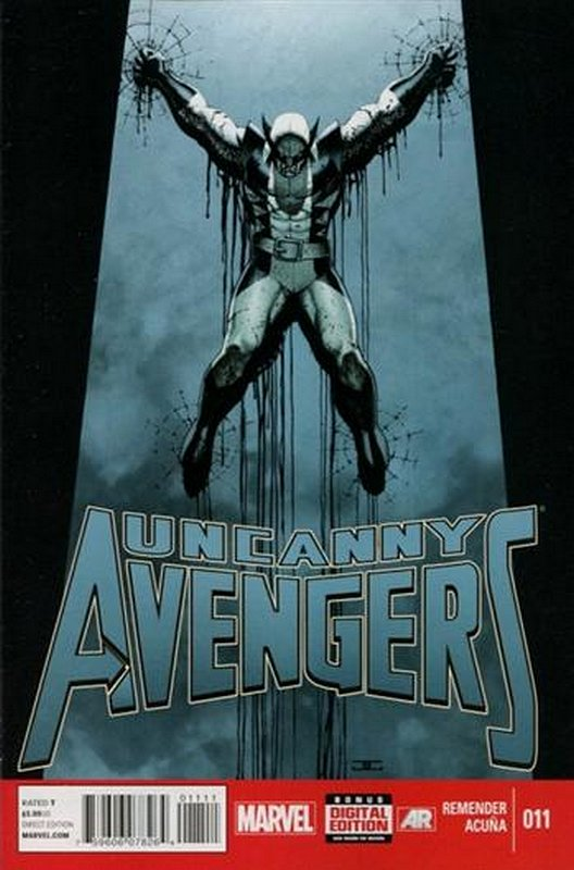 Cover of Uncanny Avengers (Vol 1) #11. One of 250,000 Vintage American Comics on sale from Krypton!