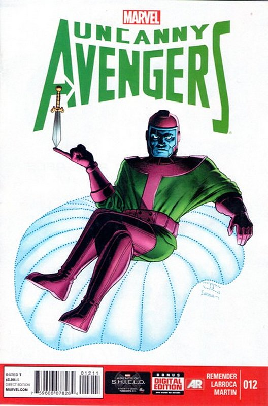 Cover of Uncanny Avengers (Vol 1) #12. One of 250,000 Vintage American Comics on sale from Krypton!