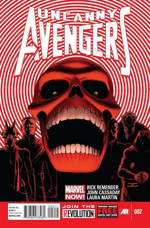 Cover of Uncanny Avengers (Vol 1) #2. One of 250,000 Vintage American Comics on sale from Krypton!