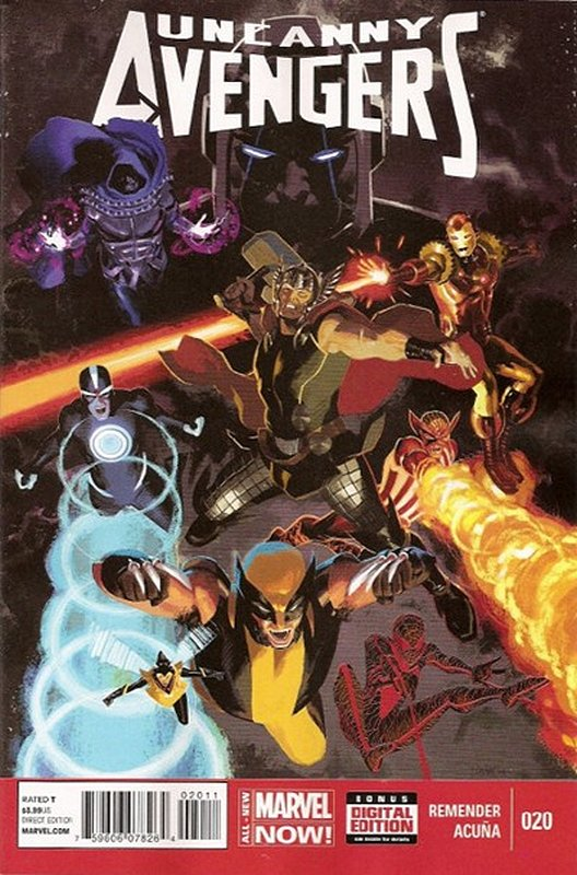 Cover of Uncanny Avengers (Vol 1) #20. One of 250,000 Vintage American Comics on sale from Krypton!
