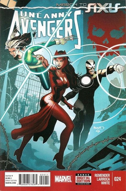 Cover of Uncanny Avengers (Vol 1) #24. One of 250,000 Vintage American Comics on sale from Krypton!