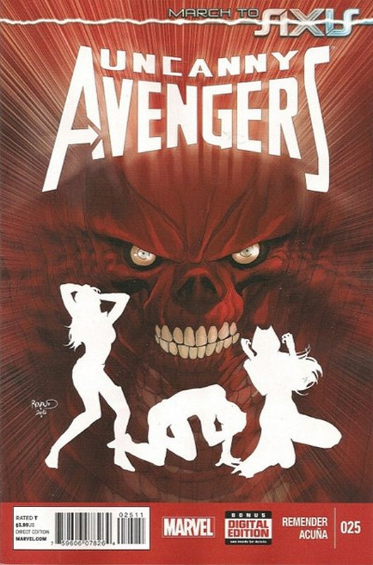 Cover of Uncanny Avengers (Vol 1) #25. One of 250,000 Vintage American Comics on sale from Krypton!