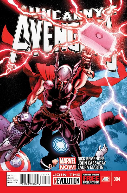 Cover of Uncanny Avengers (Vol 1) #4. One of 250,000 Vintage American Comics on sale from Krypton!