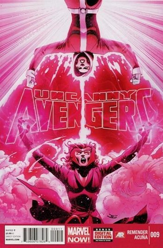 Cover of Uncanny Avengers (Vol 1) #9. One of 250,000 Vintage American Comics on sale from Krypton!