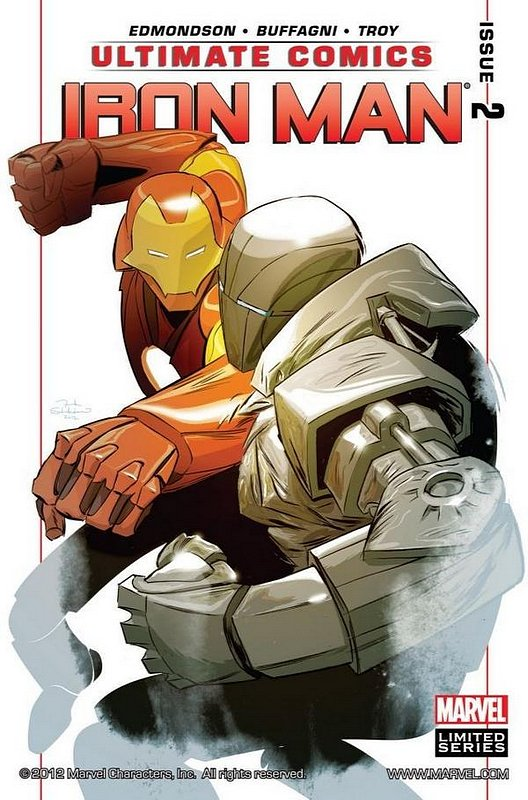 Cover of Ultimate Comics Iron Man (2012 Ltd) #2. One of 250,000 Vintage American Comics on sale from Krypton!