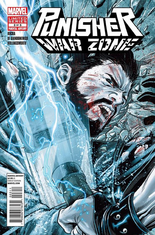 Cover of Punisher War Zone (2012 Ltd) #3. One of 250,000 Vintage American Comics on sale from Krypton!
