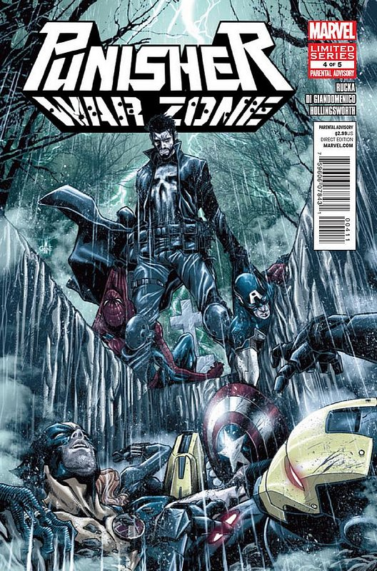Cover of Punisher War Zone (2012 Ltd) #4. One of 250,000 Vintage American Comics on sale from Krypton!