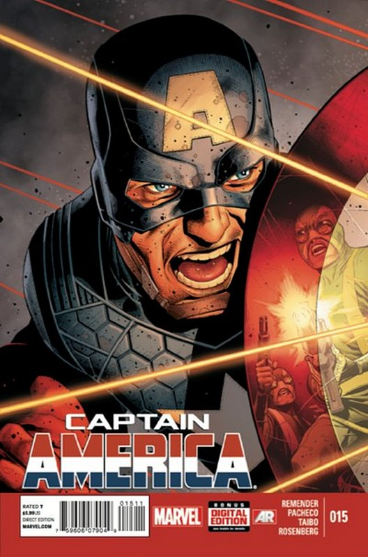 Cover of Captain America (Vol 7) #15. One of 250,000 Vintage American Comics on sale from Krypton!