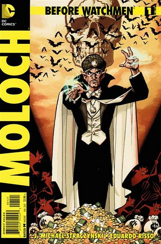 Cover of Before Watchmen: Moloch (2012 Ltd) #1. One of 250,000 Vintage American Comics on sale from Krypton!