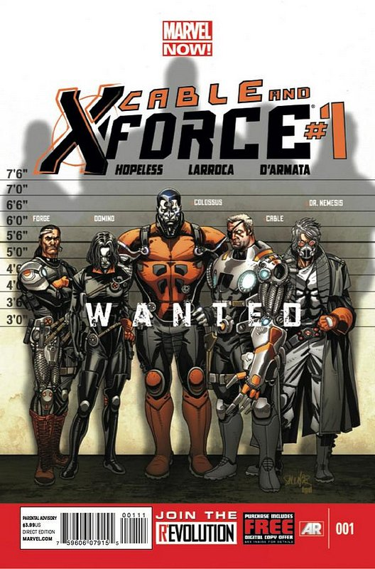 Cover of Cable & X-Force (Vol 1) #1. One of 250,000 Vintage American Comics on sale from Krypton!