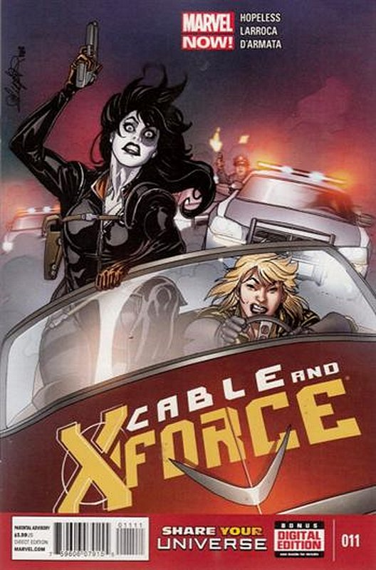 Cover of Cable & X-Force (Vol 1) #11. One of 250,000 Vintage American Comics on sale from Krypton!