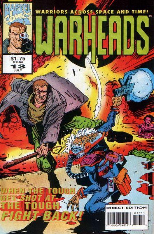 Cover of Warheads (Vol 1) #13. One of 250,000 Vintage American Comics on sale from Krypton!