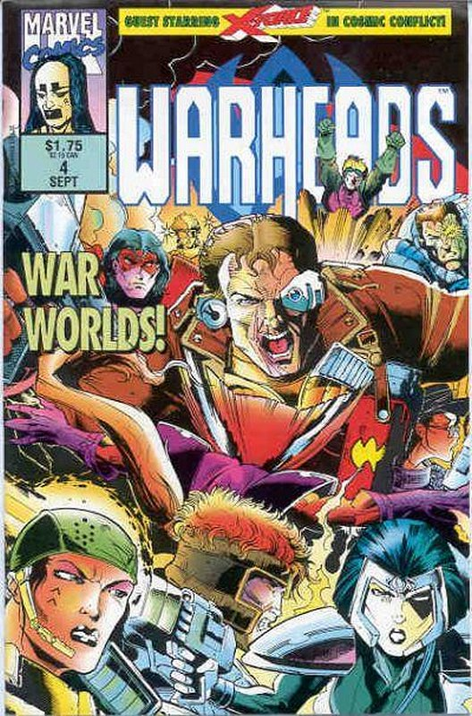 Cover of Warheads (Vol 1) #4. One of 250,000 Vintage American Comics on sale from Krypton!
