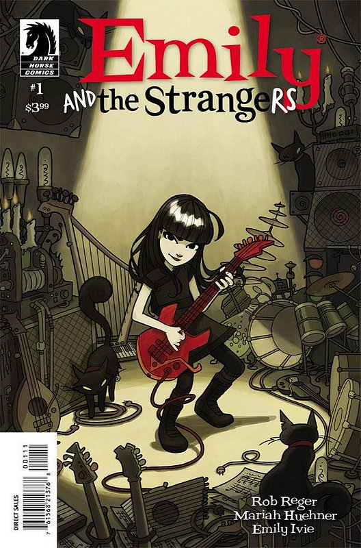 Cover of Emily & The Strangers (2012 Ltd) #1. One of 250,000 Vintage American Comics on sale from Krypton!