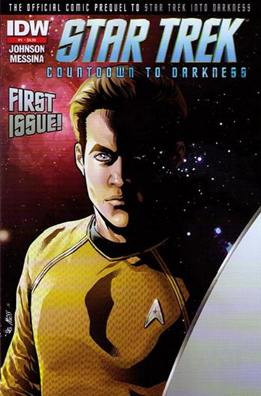 Cover of Star Trek: Countdown to Darkness (2013 Ltd) #1. One of 250,000 Vintage American Comics on sale from Krypton!